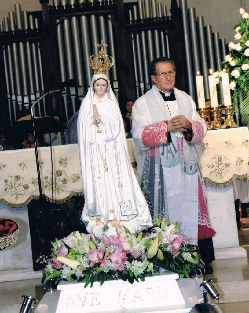 Don Salvatore devoto del Cuore Immacolato di Maria