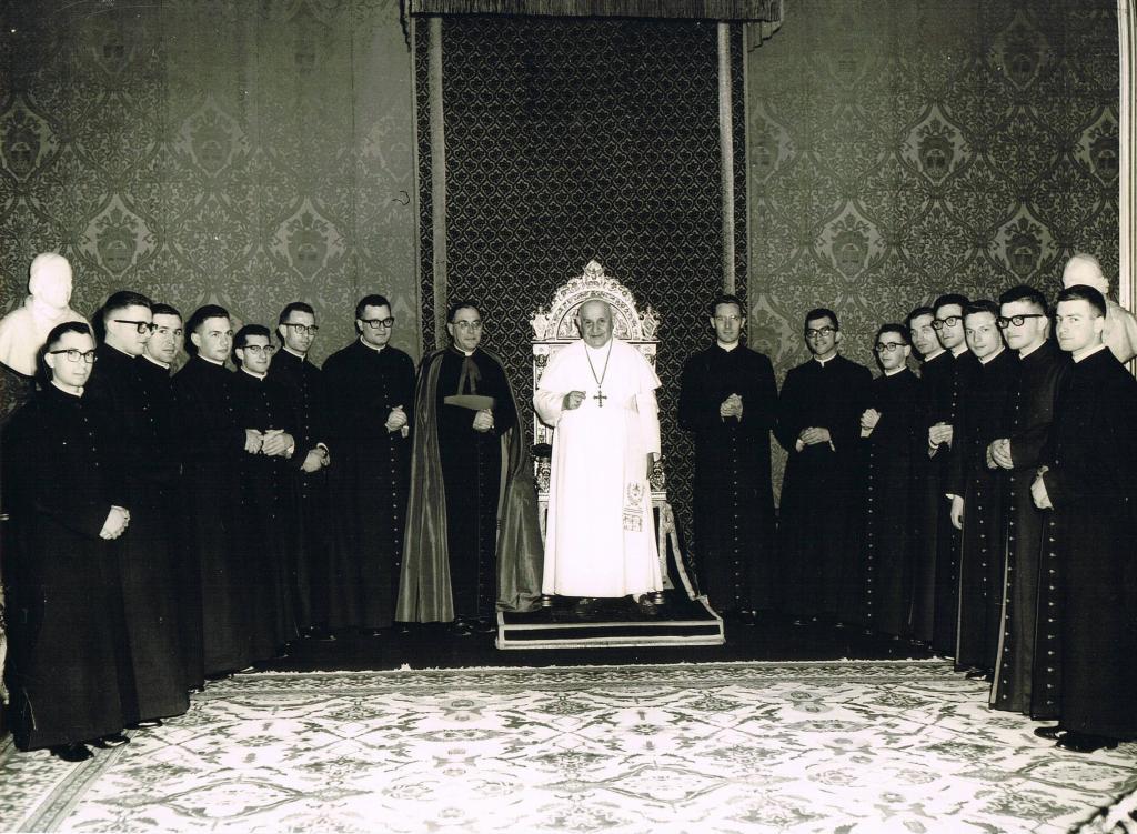 Seminario Romano con Papa S. Giovanni XXIII