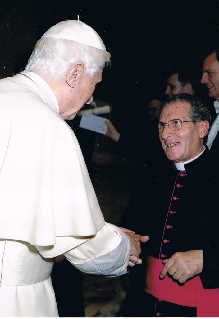 Mons. Salvatore De Filippo incontra Papa Benedetto XVI